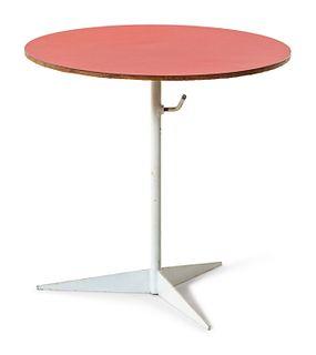 Tony Paul  (American, 1918-2010) Adjustable Side Table
