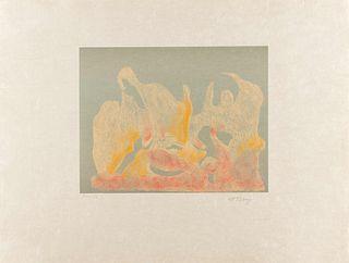 Mark Tobey (American, 1890-1976) The Awakening Dawn