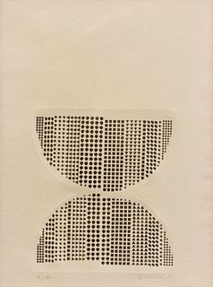 Victor Vasarely (French/Hungarian, 1906-1997) Code, 1968