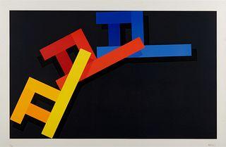 Per Arnoldi (American, b. 1946) Untitled