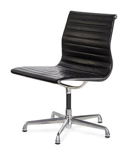 Charles and Ray Eames (American, 1907,1978 | American, 1912-1988) Aluminum Group Side Chair,Herman Miller, USA