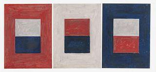 Pierre Haubensak (Swiss, b. 1935) Triune, 1975