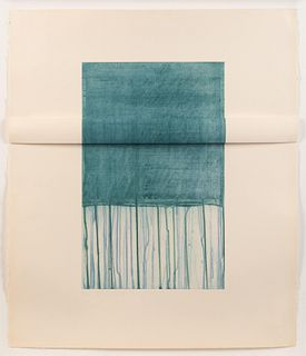 Richard Smith (British, 1931-2016) Small Blue, 1977