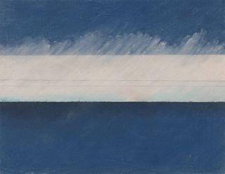 Stephanie Jackson (American, 20th century) Blue Skies, 1977