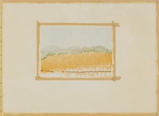 Sylvia Mangold (American, b. 1938) Untitled fromAquatint, Sugarlift and Golden Changes, 1977
