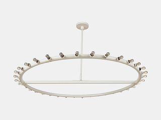 Alvin Lustig (American, 1915-1955) Ceiling Light,Lightolier, USA