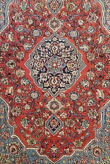 Semi-Antique Vintage Persian Kashan Carpet, courtesy of Shaia Oriental Rugs