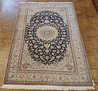 Vintage Persian Nain Carpet, courtesy of Shaia Oriental Rugs