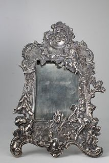 Tiffany, Sterling Silver Repousse Frame