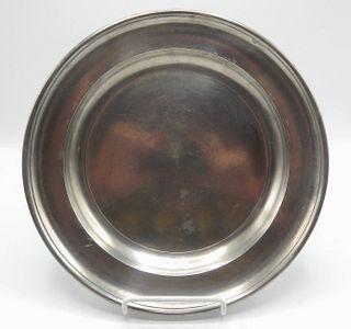 Pewter Dish by WIlliam Calder