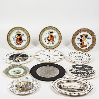 Eleven Wedgwood Plates and Dishes