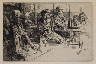 JAMES ABBOTT MCNEIL WHISLTER (AMERICAN, 1834-1903)