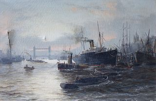 EDWARD HENRY EUGENE FLETCHER (ENGLISH, 1851-1945).