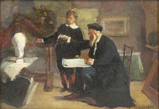 EDOUARD MOYSE (FRENCH, 1827-1908).