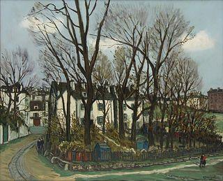 LEON-ALPHONSE QUIZET (FRENCH, 1885-1955).