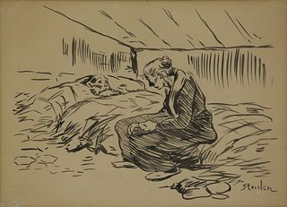 THEOPHILE ALEXANDRE STEINLEN (SWISS, 1859-1923).