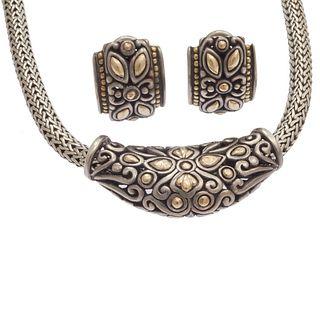 John Hardy 18k, Sterling Silver Jewelry Suite