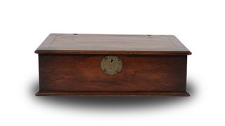 Chinese Huanghuali Cashiers Box, 18th Century
