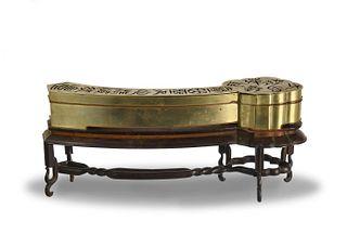 Chinese Bronze Incense Burner, Republic