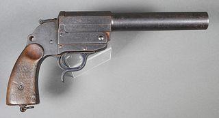 WALTHER Long Barrel German Flare Gun Pistol