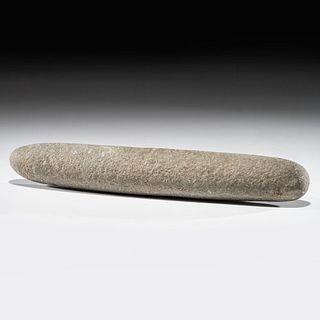A Granite Roller Pestle, Length 12-1/2 in.