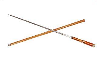 Agate Sword Cane