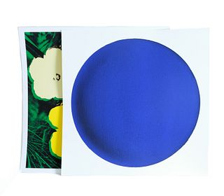Andy Warhol & Yves Klein Two Works