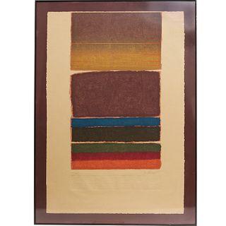 Manner of Mark Rothko, screen print