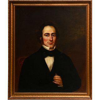 American Folk School, oil portrait