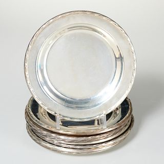 Set (8) Towle sterling silver dishes