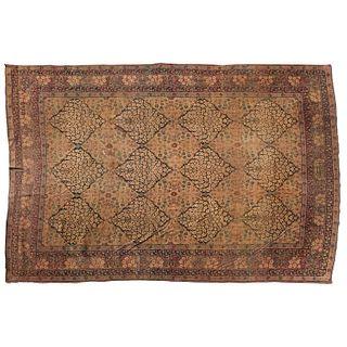 Antique signed Lavar Kerman carpet