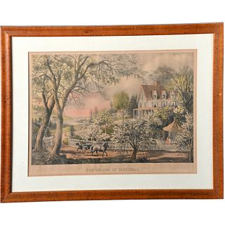Currier & Ives, lithograph