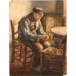 John P. Downie, painting