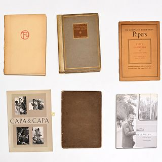BOOKS: (6) vols. Art and Photography