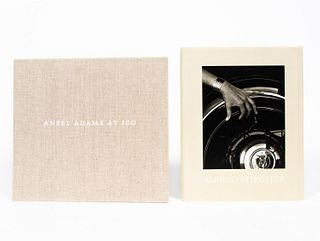 2 ART BOOKS ON ALFRED STIEGLITZ & ANSEL ADAMS