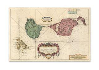 Bellin, Jacques Nicolas. Carte des Isles de Saint Pierre et Miquelon Levee par Ordre de M. le Duc de Choiseul