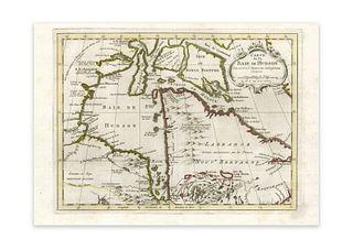 Bellin, Jaques Nicolas. Carte de la Baie de Hudson