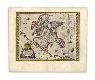 Blaeu, Guiljelmus. Rugia Insula ac Ducatus