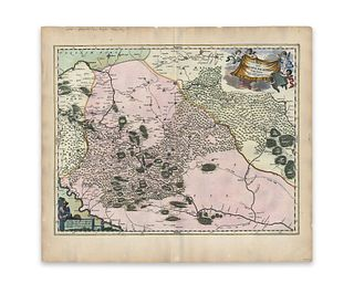 Blaeu, Joan. Ukrainae Pars Quae Barclavia Palatinatus Vulgo Dictur