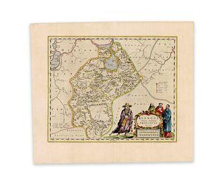 Blaeu, Joan (I.). Kiangsi, Imperium Sinarum Provincia Octava