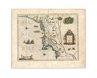 Blaeu, Willem Jansz. Nova Belgica et Anglia nova