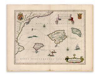 Blaeu, Willem Jansz. Insulae Balearides et Pytiusae
