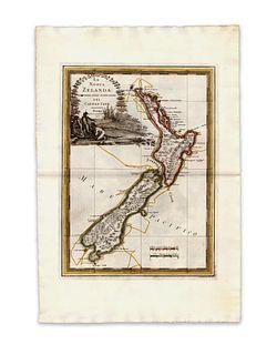 Cassini, Giovanni Maria. La Nuova Zelanda