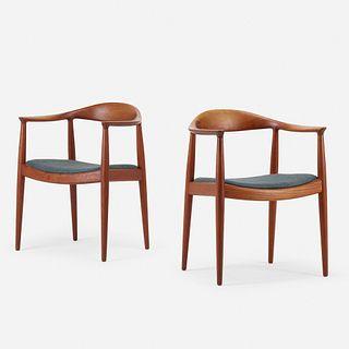 Hans J. Wegner, The Chairs, pair