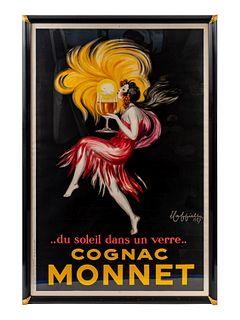 Leonetto Cappiello (Italian/French, 1875-1942) Cognac Monnet, 1927