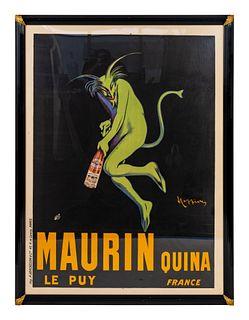 Leonetto Cappiello (Italian/French, 1875-1942) Maurin Quina