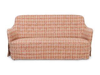 Carl Malmsten (Swedish, 1888-1972) An Upholstered Birch Samsas Settee
