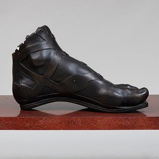 Ebonized Plaster Model of a Roman Soldier's Foot, After the Antique