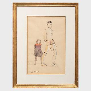 Christian Bérard (1902-1949): Acrobats