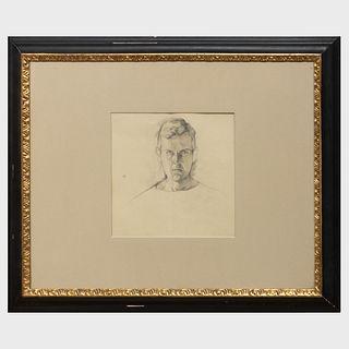 Geoffrey Bennison (1921-1984): Portrait of John Richardson